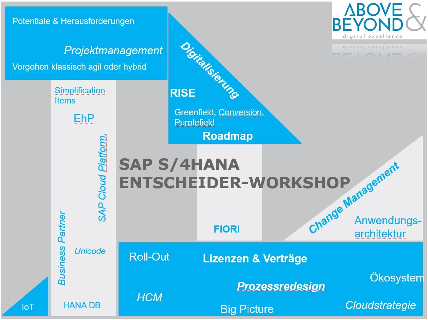 SAP S/4HANA Entscheiderworkshop
